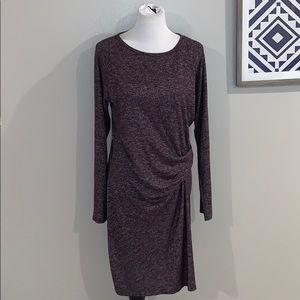 Athleta Asymmetrical Wrap Dress